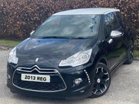 USED 2013 13 CITROEN DS3 1.6 E-HDI AIRDREAM DSPORT PLUS 3d FREE ROAD TAX, RECENTLY SERVICED, MOT UNTIL APRIL 2022, FULL LEATHER, REAR PARKING SENSORS, BLUETOOTH
