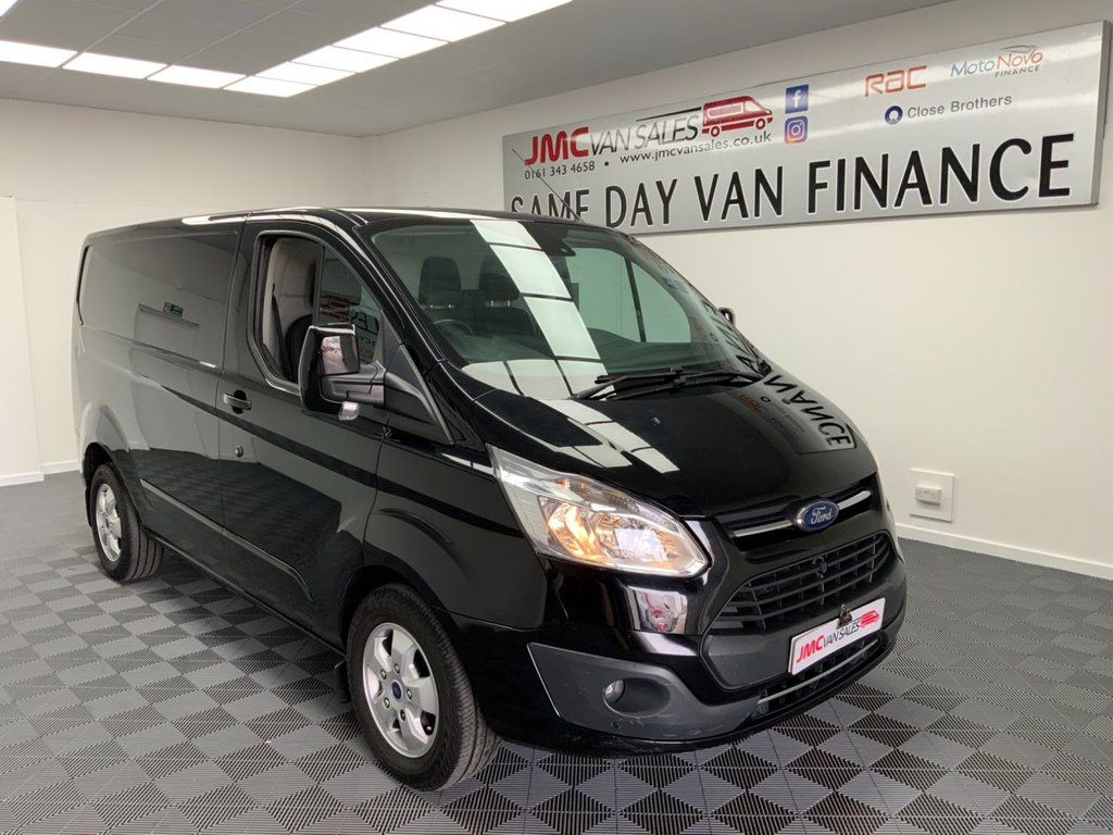 USED 2018 67 FORD TRANSIT CUSTOM 2.0 270 LIMITED 130BHP 1 OWNER FROM NEW LOW MILES FULL SERVICE HISTORY  1 OWNER FROM NEW, LOW MILES AIR CON CRUISE CONTROL CHOICE IN STOCK
