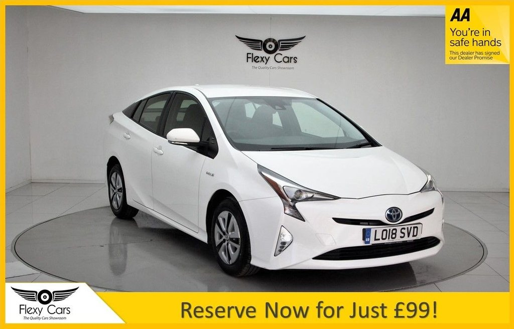 USED 2018 18 TOYOTA PRIUS 1.8 VVT-I ACTIVE 5d 97 BHP