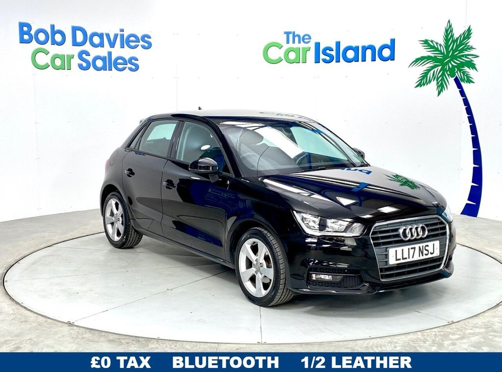 USED 2017 17 AUDI A1 1.0 SPORTBACK TFSI SPORT 5d 93 BHP Audi Music Streaming Half Leather £0TAX only 24000miles