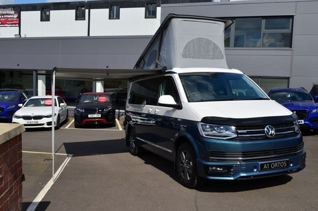 View our VOLKSWAGEN CALIFORNIA OCEAN TDI BMT 4MOTION