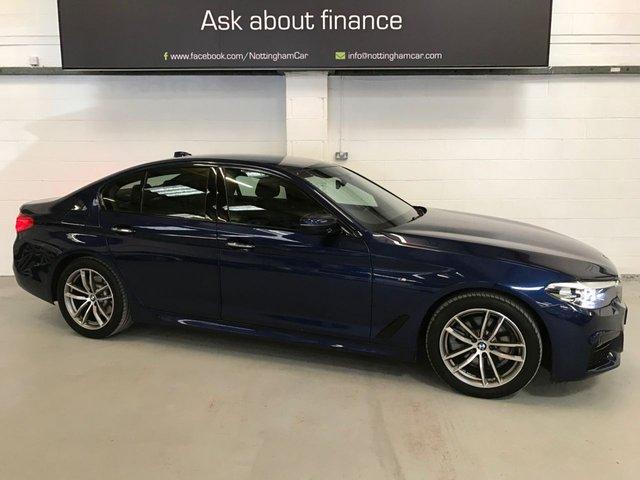USED 2017 17 BMW 5 SERIES 2.0 520D M SPORT 4d 188 BHP