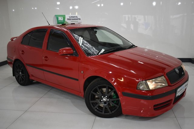 USED 2005 55 SKODA OCTAVIA 1.8 RS TURBO 5d 177 BHP