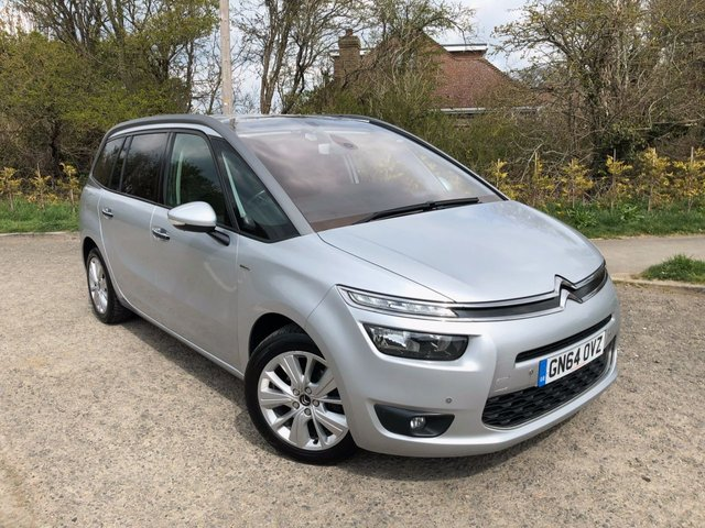 USED 2014 64 CITROEN C4 GRAND PICASSO 1.6 E-HDI AIRDREAM EXCLUSIVE ETG6 5d 113 BHP