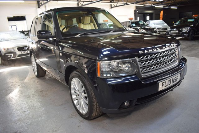 USED 2010 10 LAND ROVER RANGE ROVER 3.6 TDV8 VOGUE 5d 271 BHP LOVELY CONDITION 3.6 TDV8 VOGUE - FACELIFT DIGITAL DASH - S/H TO 98K - LEATHER - NAV - TV - PRIVACY GLASS - 20 INCH ALLOYS - REVERSE CAMERA