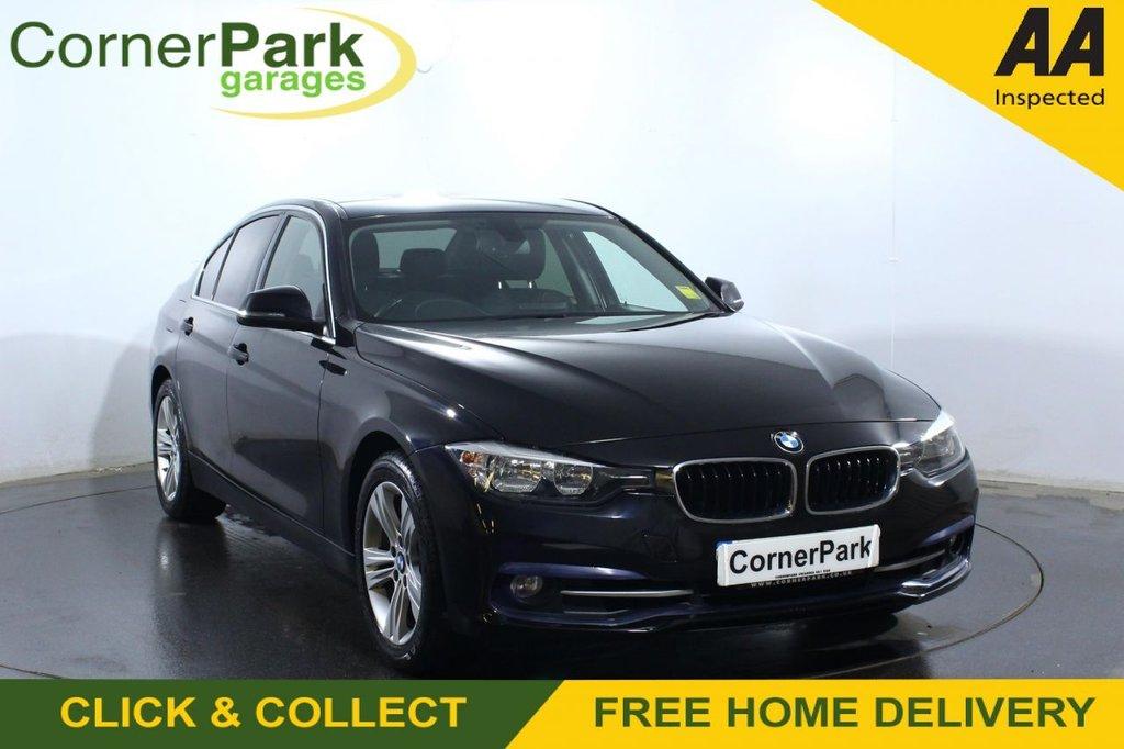 USED 2016 16 BMW 3 SERIES 2.0 320I SPORT 4d 181 BHP