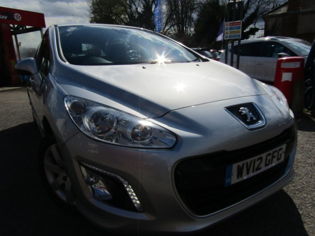 USED 2012 12 PEUGEOT 308 1.6 HDI ACTIVE 5d 92 BHP ** documented service history ** £20 to tax ** Great economy ** parts & labour warranty included ** Free AA breakdown cover ** two keys ** finance avail;able **