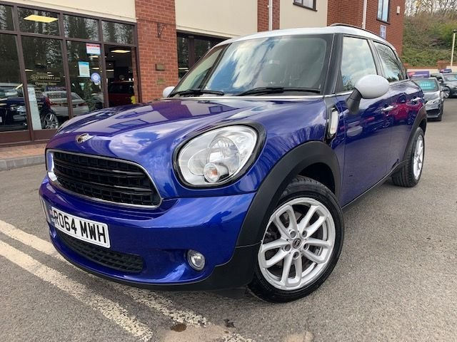 USED 2014 64 MINI COUNTRYMAN 1.6 COOPER 5d 122 BHP