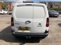 USED 2015 65 CITROEN BERLINGO 1.6 HDi 850Kg Enterprise 3 Seat 5dr Great Value Panel Van with Side Loading Door Towbar Parking Sensors Air Conditioning DAB Digital Radio Cruise Control and Excellent Service History Ready to Finance and Drive Away Today  Fantastic Service History