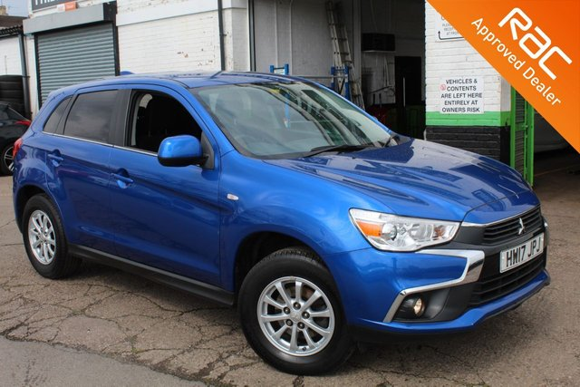 USED 2017 MITSUBISHI ASX 1.6 2 5d 115 BHP VIEW AND RESERVE ONLINE OR CALL 01527-853940 FOR MORE INFO.