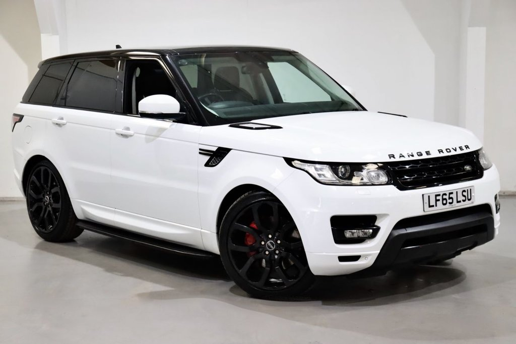 USED 2015 65 LAND ROVER RANGE ROVER SPORT 3.0 SDV6 HSE (AUTOBIOGRAPHY SPEC) 5d 306 BHP