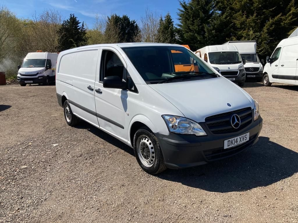 USED 2014 14 MERCEDES-BENZ VITO 2.1 113 CDI BLUEEFFICIENCY 136 BHP