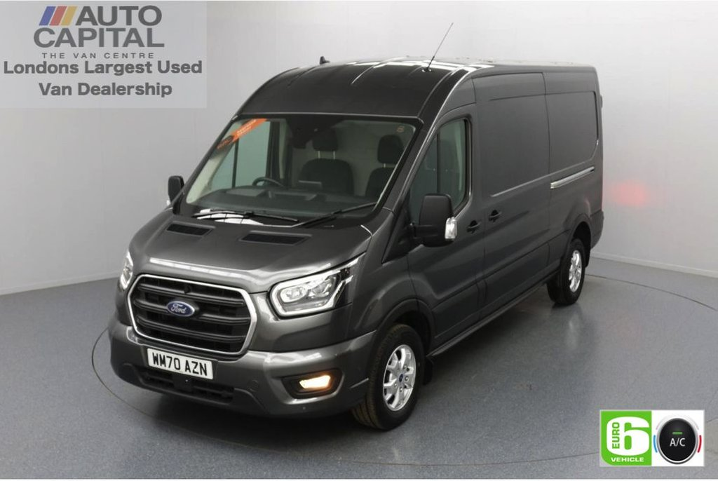 USED 2020 70 FORD TRANSIT 2.0 350 FWD Limited EcoBlue Auto 185 BHP L3 H2 Low Emission Automatic   AppLink   Ford SYNC 3   Apple CarPlay   Eco   Air Con   Start/Stop   F-R Sensors