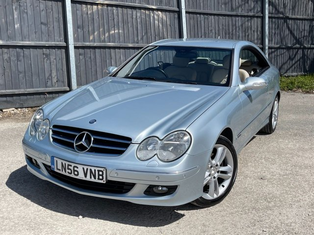 USED 2006 56 MERCEDES-BENZ CLK 3.0 CLK280 AVANTGARDE 2d 228 BHP LOVELY CAR MANY EXTRAS, VIDEO WALKROUND-UK DELIVERY POSSIBLE