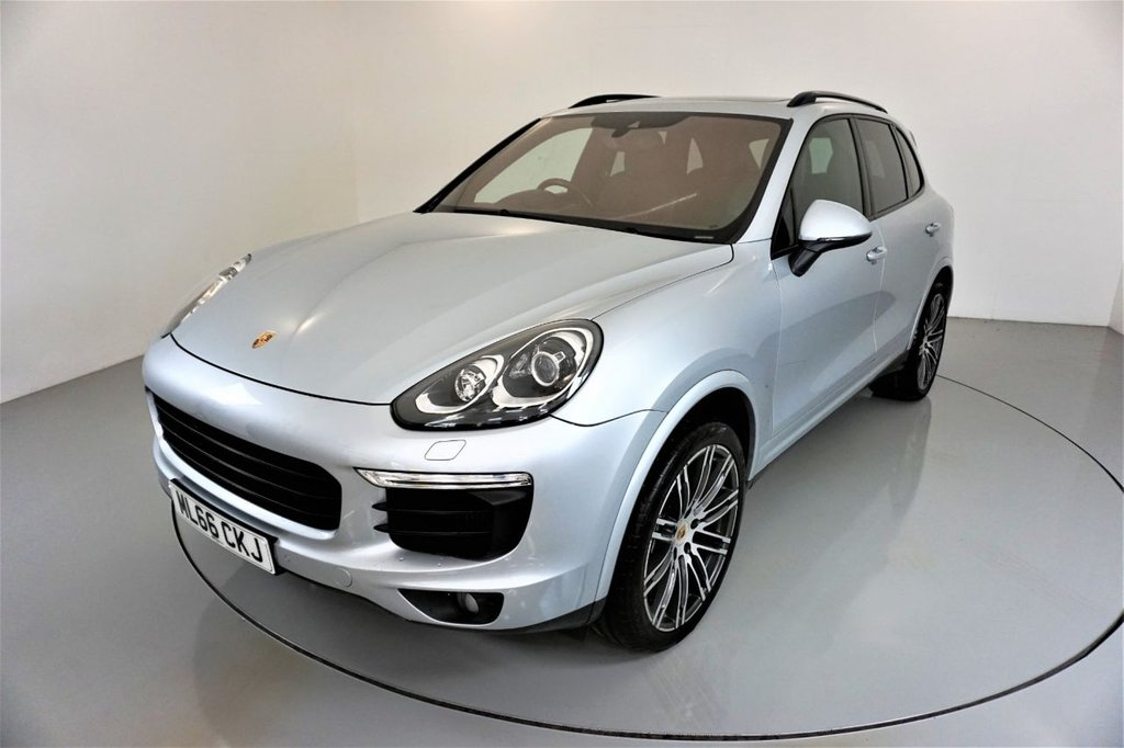 USED 2016 66 PORSCHE CAYENNE 3.0 D V6 PLATINUM EDITION TIPTRONIC S 5d AUTO-2 FORMER KEEPERS-21
