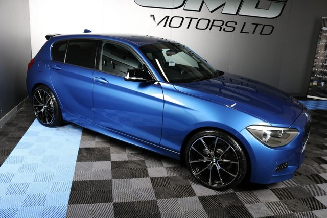 USED 2012 12 BMW 1 SERIES 2012 BMW 116D M SPORT SHADOW EDITION STYLE 114 BHP ( FINANCE & WARRANTY)