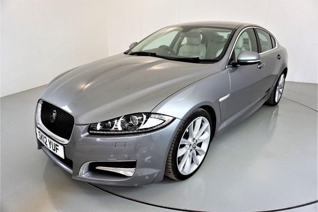 USED 2012 12 JAGUAR XF 3.0 V6 S PORTFOLIO 4d-BOWERS AND WILKINS SOUND-HEATED AND COOLED FRONT SEATS-LEATHER-BLUETOOTH-CRUISE CONTROL-SATNAV-REVERSE CAMERA-CLIMATE CONTROL