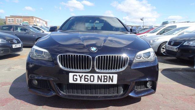 USED 2010 60 BMW 5 SERIES 2.0 520D M SPORT 4d 181 BHP LONG MOT
