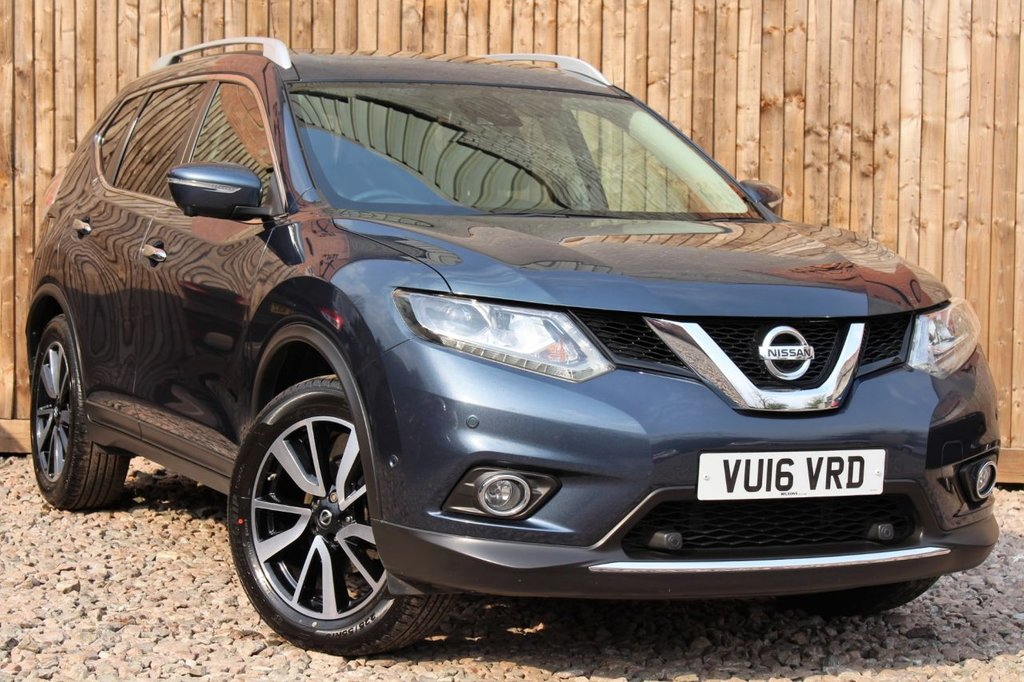 USED 2016 16 NISSAN X-TRAIL 1.6 dCi Tekna 4WD (s/s) 5dr 1 OWNER FROM NEW + 6 MONTH WARRANTY + FULL SERVICE HISTORY + MOT UNTIL MARCH 2022