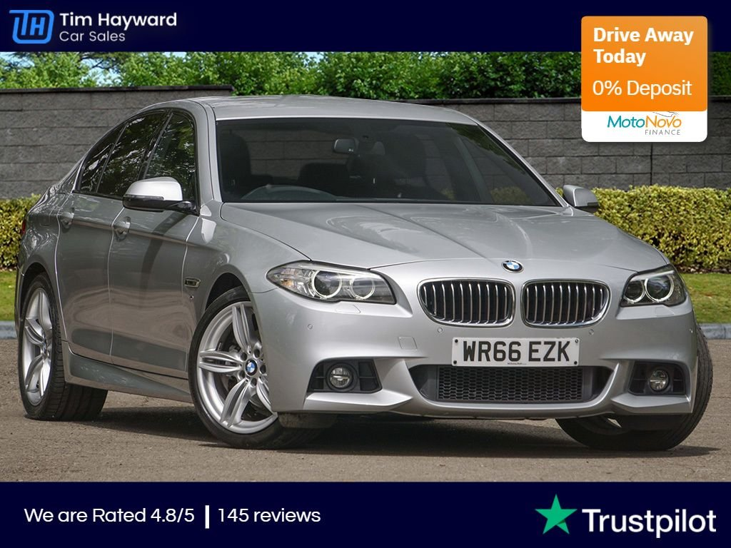 USED 2016 66 BMW 5 SERIES 2.0 520D M SPORT 4d 188 BHP