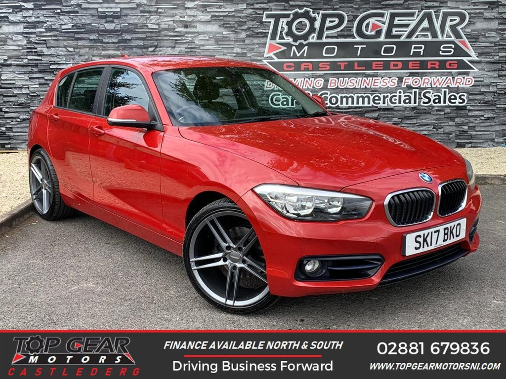 USED 2017 17 BMW 1 SERIES 120D 2.0 190BHP SPORT AUTO  ** PARKING SENSORS, SAT NAV, FINANCE AVAILABLE ** OVER 90 VEHICLES IN STOCK