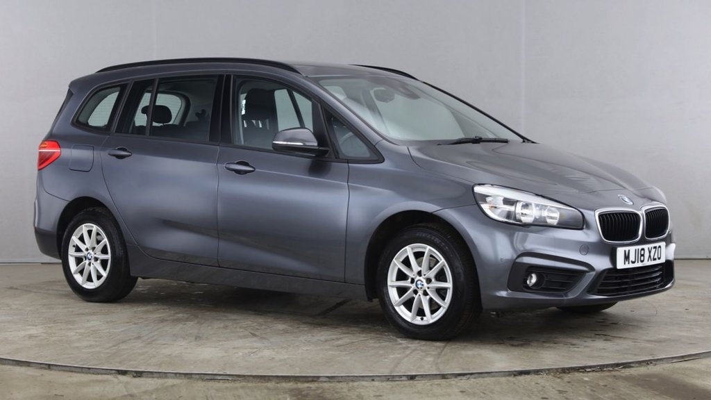 USED 2018 18 BMW 2 SERIES 1.5 216D SE GRAN TOURER 5d 114 BHP +ONE OWNER +NAV +REAR SENSORS.