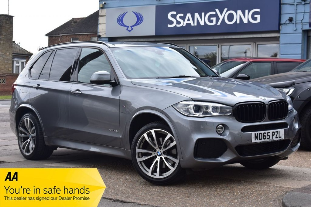 USED 2015 65 BMW X5 3.0 XDRIVE40D M SPORT 5d 309 BHP AVAILABLE FOR £529 PER MONTH £0 DEPOSIT
