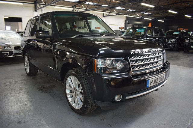 USED 2012 12 LAND ROVER RANGE ROVER 4.4 TDV8 WESTMINSTER 5d 313 BHP GREAT VALUE 4.4 TDV8 WESTMINSTER - 8 STAMPS TO 125K - LEATHER - NAV - TV DUAL VIEW - 20 INCH ALLOYS - HEATED / COOLED SEATS