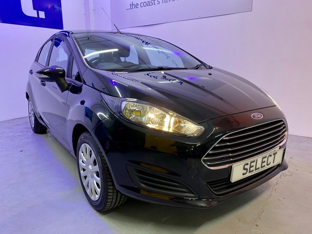 USED 2014 14 FORD FIESTA 1.2 STYLE 5d 81 BHP Gorgeous Fiesta in Panther black metallic with grey trim, air conditioning, heated front screen,Aux in ,electric pack -Only 2 previous owners with excellent service history showing 5 services and low mileage too with only 53,397 miles from new -comes with Warranty/MBI which is upgradable and extendable and LOW RATE FINANCE in available Subject to status written details available on request -DUE IN SOON Dont miss this little cracker !!!