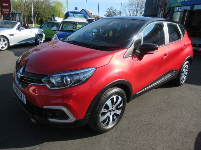 USED 2018 68 RENAULT CAPTUR 0.9 PLAY TCE 5d 89 BHP