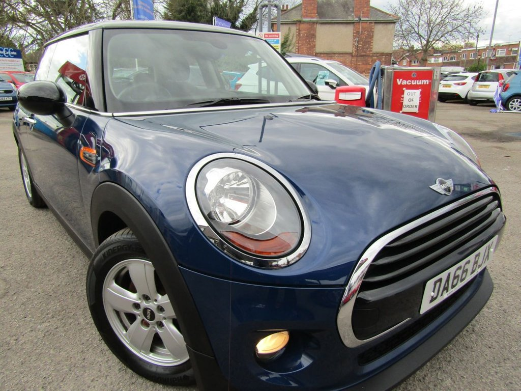 USED 2016 66 MINI HATCH COOPER 1.5 COOPER 3d 134 BHP Fantastic example ** lowest miles ** Great value **  Low rate PCP finance deal ** Book a test drive today ** Documented service history ** Free AA breakdown cover ** P/X wanted ** Please check our reviews **