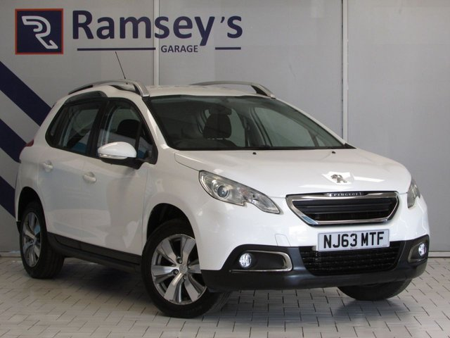 USED 2013 63 PEUGEOT 2008 1.2 ACTIVE 5d 82 BHP