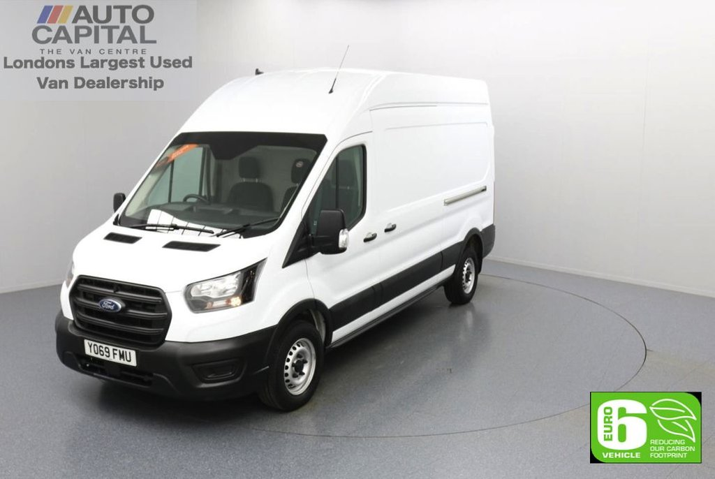 USED 2020 69 FORD TRANSIT 2.0 350 FWD Leader EcoBlue L3 H3 130 BHP Low Emission Voice Control System   Start/ Stop   ECO mode   DAB/ Am/ Fm Radio