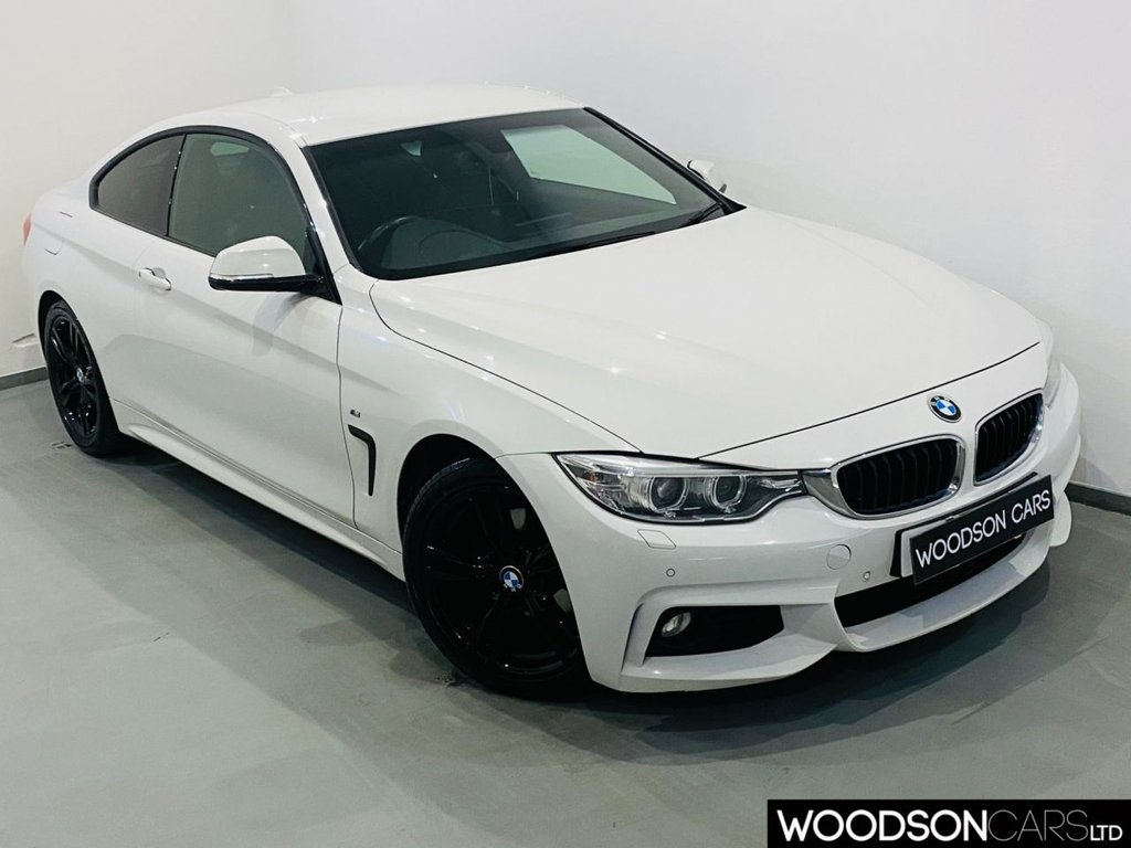USED 2016 16 BMW 4 SERIES 2.0 420D M SPORT 2d 188 BHP Professional Navigation / DAB Radio / Bluetooth / Heated Leather