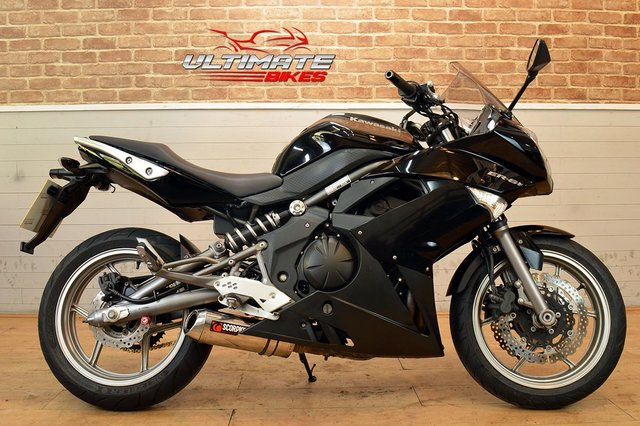 USED 2010 10 KAWASAKI ER-6F (EX 650 C9F) - FREE DELIVERY AVAILABLE