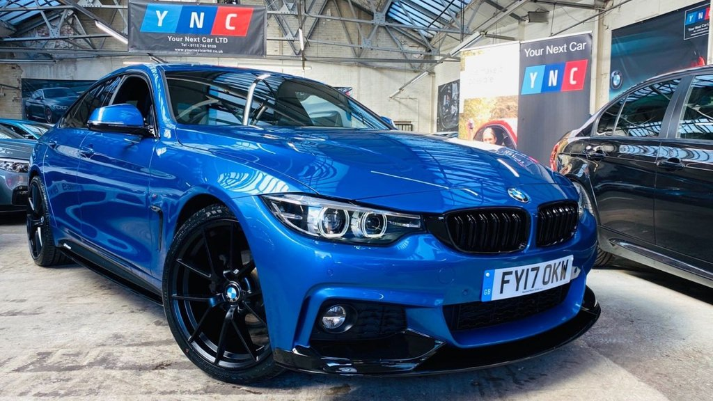 USED 2017 17 BMW 4 SERIES 2.0 420i M Sport Gran Coupe Auto (s/s) 5dr PERFORMANCEKIT+20S+420i