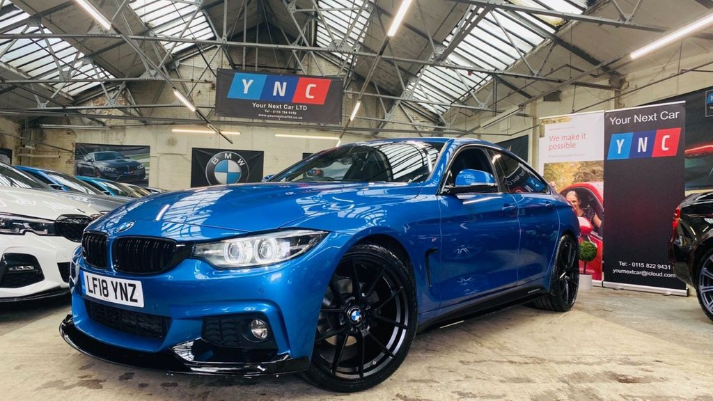 USED 2018 18 BMW 4 SERIES 2.0 420d M Sport Gran Coupe Auto (s/s) 5dr PERFORMANCEKIT+20S+FBMWH
