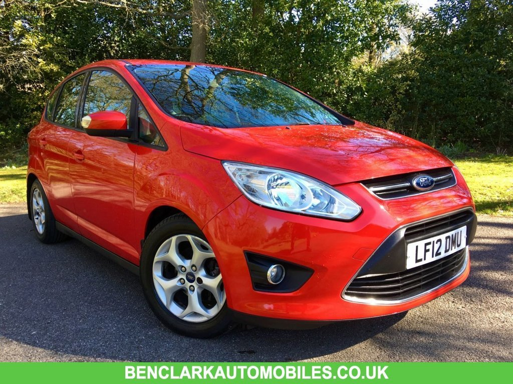 USED 2012 12 FORD C-MAX 1.6 ZETEC TDCI 5d 114 BHP 30POUND ROAD TAX//BLUETOOTH// FULL SERVICE HISTORY NOW IN AS A PART EXCHANGE//BLUETOOTH//X7 SERVICE STAMPS,,LAST SERVICED @69,318 MILES