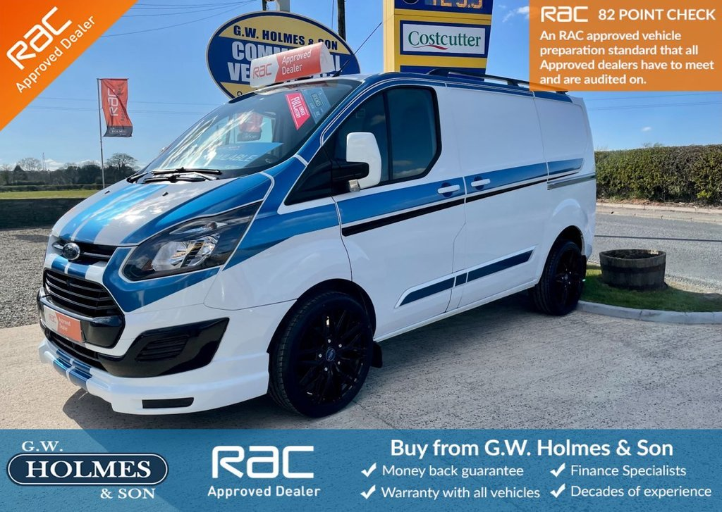 USED 2013 13 FORD TRANSIT CUSTOM 2.2 TDCI 100 BHP L1 H1 **SPORTS PACK**DRIVE AWAY TODAY**ONLY 66000 MILES**FSH**