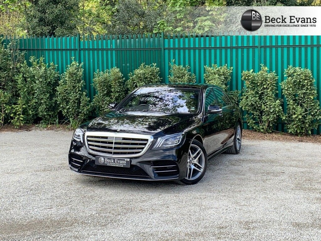 USED 2018 68 MERCEDES-BENZ S-CLASS 3.0 S 500L AMG LINE PREMIUM PLUS 4d 430 BHP