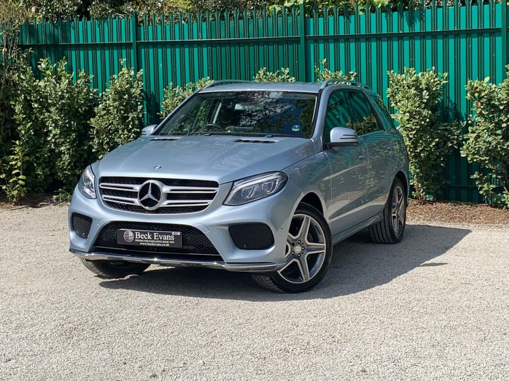 USED 2016 16 MERCEDES-BENZ GLE-CLASS 3.0 GLE 350 D 4MATIC AMG LINE 5d 255 BHP