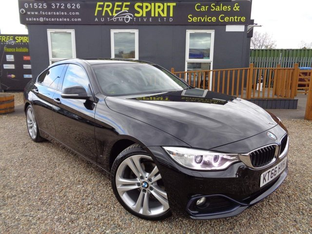 USED 2016 66 BMW 4 SERIES 2.0 420d Sport Gran Coupe Auto (s/s) 5dr Nav, Leather, DAB, Phone