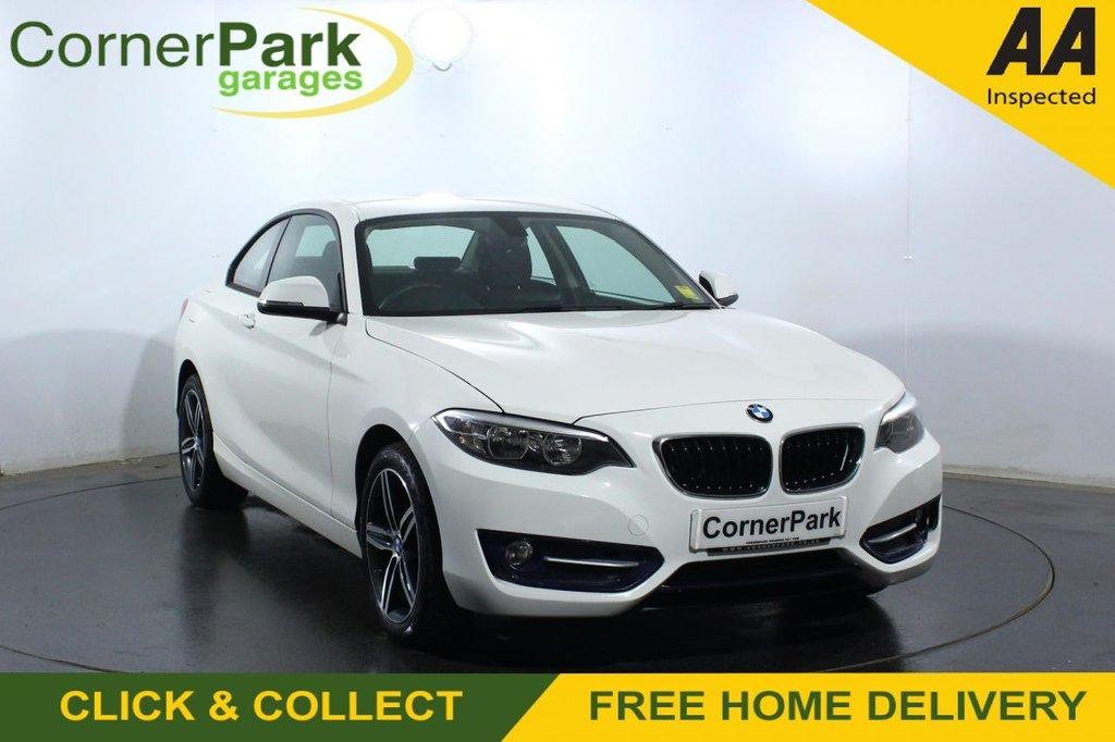 USED 2017 66 BMW 2 SERIES 1.5 218I SPORT 2d 134 BHP