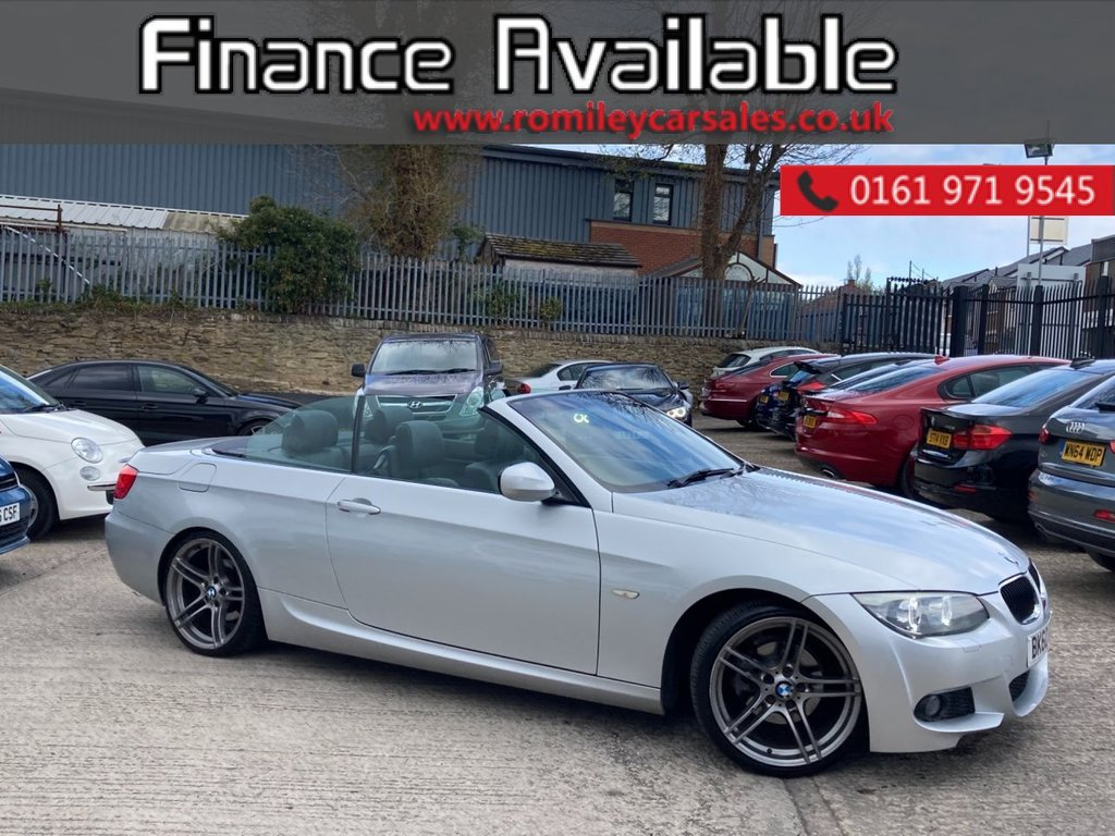"USED 2010 60 BMW 3 SERIES 2.0 320I M SPORT 2d 168 BHP SERVICE RECORD - FULL HEATED LEATHER INTERIOR - 19"" ALLOYS - ANGEL EYES - BI XENON HEADLIGHTS"