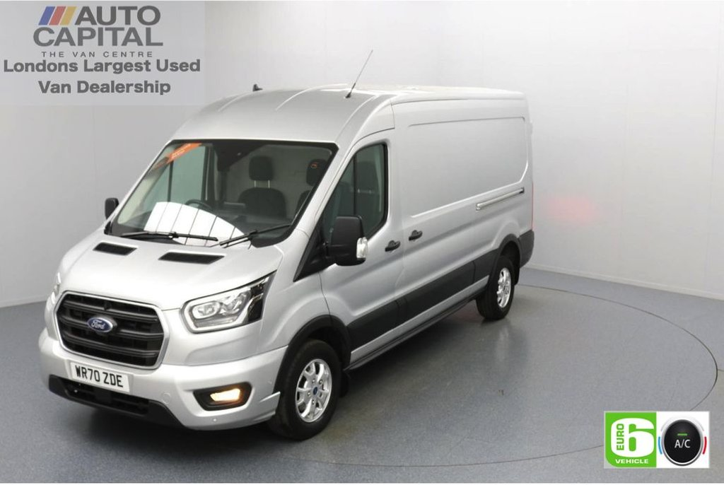 USED 2020 70 FORD TRANSIT 2.0 350 FWD Limited EcoBlue Auto 185 BHP L3 H2 Low Emission Automatic Gearbox | Sat Nav | Eco Mode | Auto Start-Stop | Front and rear parking distance sensors | Alloy wheels