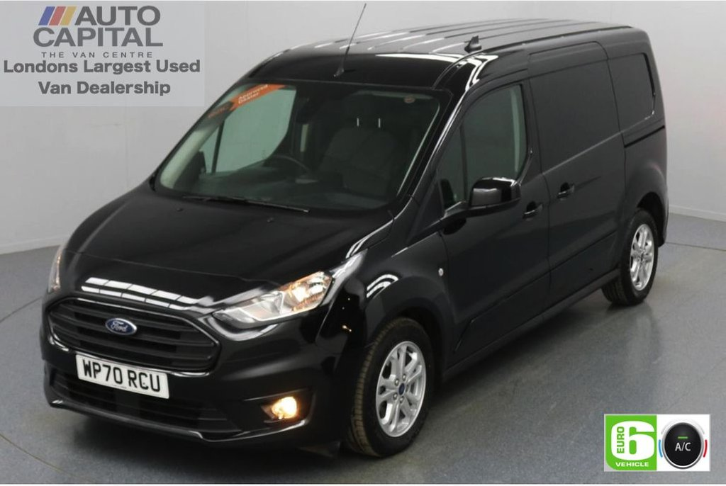 USED 2020 70 FORD TRANSIT CONNECT 1.5 240 Limited EcoBlue Auto 120 BHP L2 LWB 3 Seats Low Emission Automatic Gearbox   Keyless Go   Air conditioning   Auto Start-Stop system   Rear parking distance sensors
