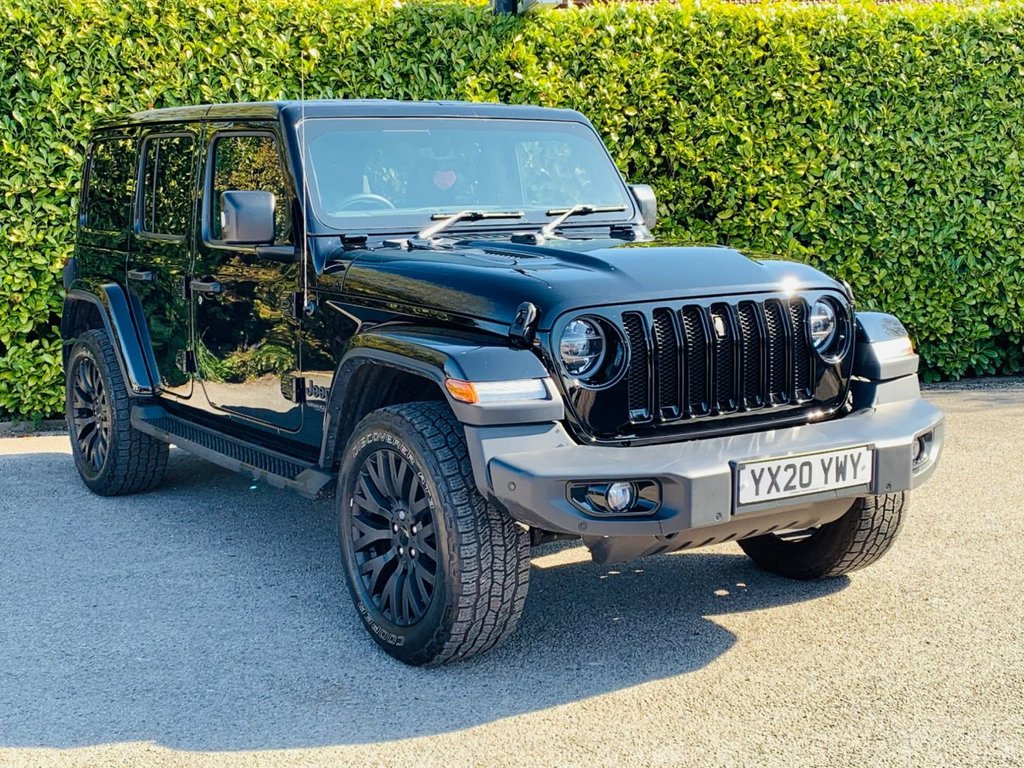 USED 2020 20 JEEP WRANGLER 2.0 NIGHT EAGLE UNLIMITED 4d 269 BHP