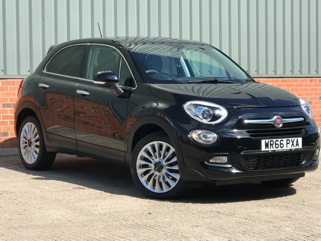 USED 2016 66 FIAT 500X 1.4 MULTIAIR LOUNGE 5d 140 BHP EXCELLENT LOW MILEAGE EXAMPLE
