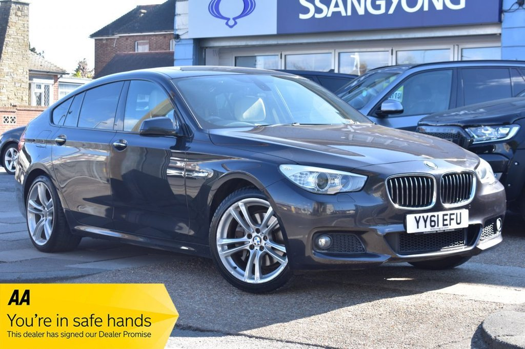 USED 2011 61 BMW 5 SERIES 530D M SPORT GRAN TURISMO 5d 242 BHP AUTOMATIC AVAILABLE FOR £239 PER MONTH £0 DEPOSIT