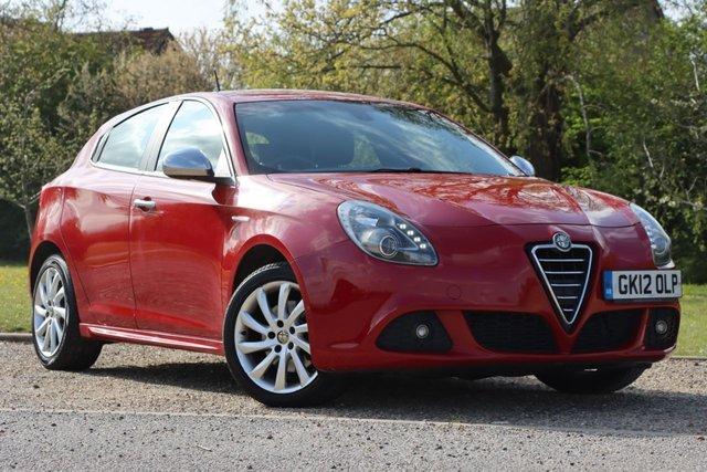 USED 2012 12 ALFA ROMEO GIULIETTA 2.0 JTDM-2 VELOCE TCT 5d 170 BHP